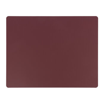 Softbuck Square Table Mat - Set of 4 - Bordeaux