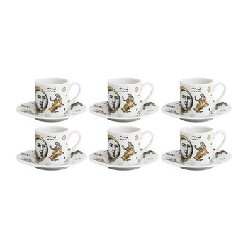 Astronomici Expresso Cup & Saucer - Set of 6