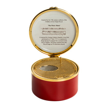 Chapel Royal Livery Collection Music Box - Water Music