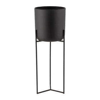 Raised Black Planter - Tall