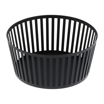 Tower Fruit Basket - Deep - Black