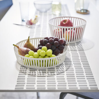 Tower Fruit Basket - Deep - White