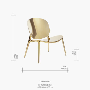 Be Bop Chair - Gold
