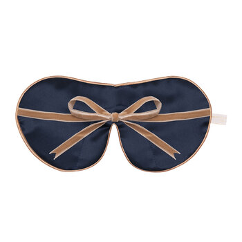 Liberty Print Silk Eye Mask - Bluebell