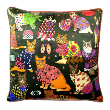 Fashion Cats Cushion