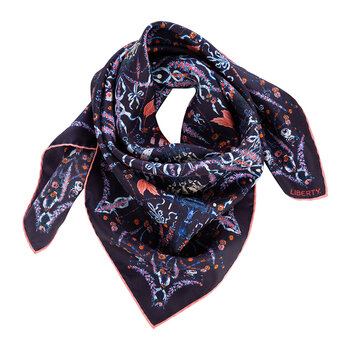 Chandelier Scarf - Navy