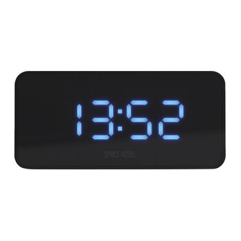 Hypertron Alarm Clock - Black/Blue