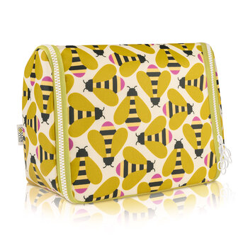 Hanging Wash Bag - Busy Bee