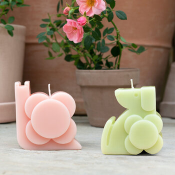 Dog Molded Scented Candle