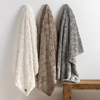 Adalee Throw 130x180cm - Oyster