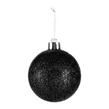 Set of 40 Assorted Baubles - Black