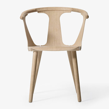 In Between Wooden Chair - SK1 - White