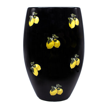 Lemon Vase - Black