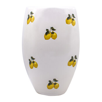Lemon Vase - White