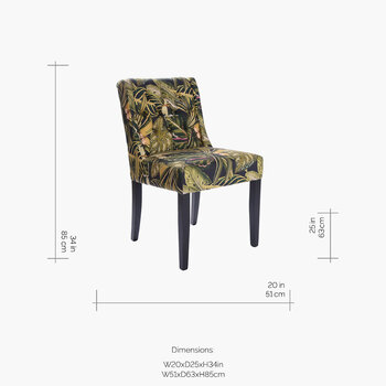 Amazonia Tufted Dining Chair