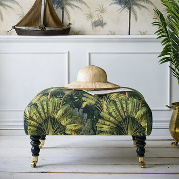 Hudson Stool - Travellers Palm