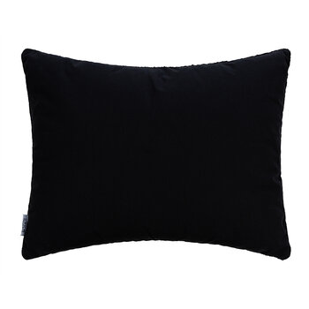 Velvet Embroidered Cushion - 40x50cm - Green