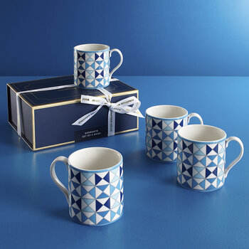 Sorrento Mugs - Set of 4