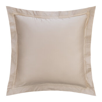 Doppio Ajour Pillowcase - 65x65cm - Beige