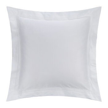 Doppio Ajour Pillowcase - 65x65cm - White