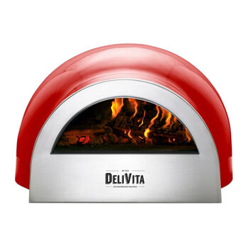Outdoor Pizza Oven - Chilli Red