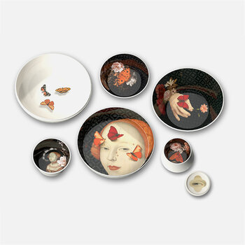 Faux Semblants Stackable Bowls - Set of 6 - Ming Muse