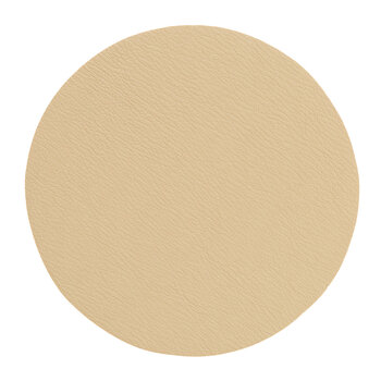 Double Sided Vegan Leather Coasters - Set of 4 - Sand