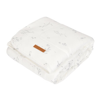 Pure & Soft Bassinet Blanket - Ocean White