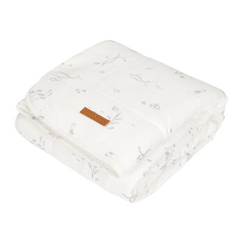 Pure & Soft Cot Blanket - Ocean White