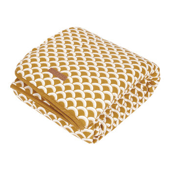 Pure & Soft Cot Blanket - Sunrise - Ochre