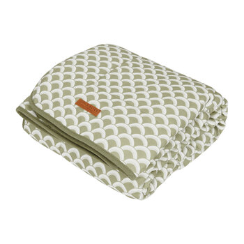Pure & Soft Cot Blanket - Sunrise - Olive