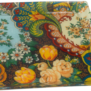 Chinese Garden Tray - Multi