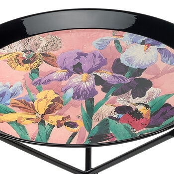 Voyage En Angleterre Round Table - Small - Pink