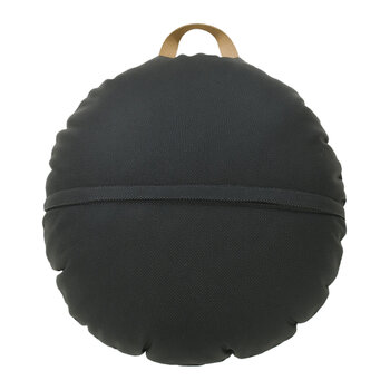 Circular Floor Cushion - Raven