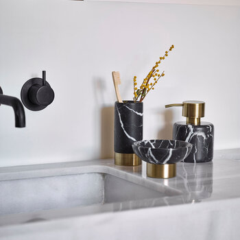 Nero Soap Dish - Black