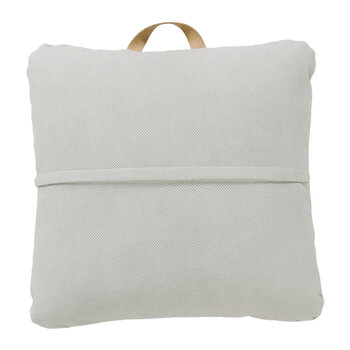 Square Floor Pillow - Pewter
