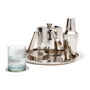 Winsford Cocktail Shaker - Shiny Nickel