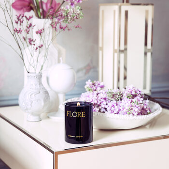 Flore Mist & Lilac Blossom Scented Candle - 300g