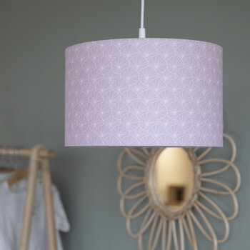 Ceiling Light - 30cm - Lily Leaves Pink