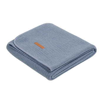 Cot Summer Blanket - Pure Blue