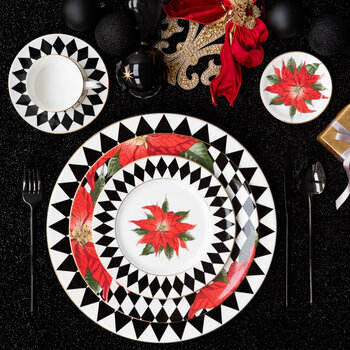 Parterre Charger Plate - Black