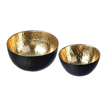 Gold Nesting Bowls - Set of 2