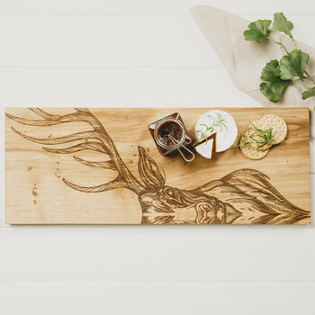 Oak Stag Serving Board - Large