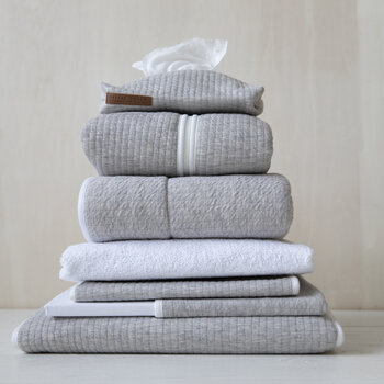 Hooded Towel - Pure Grey