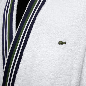 L Club Bathrobe - White