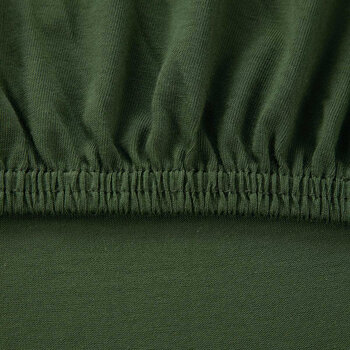 Soft Fitted Sheet - Green