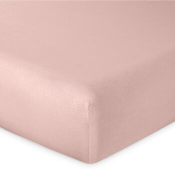 Soft Fitted Sheet - Pale Pink