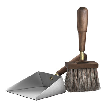 Shovel and Brush Set - Silver