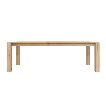 Slice Extendable Dining Table - Oak - Large