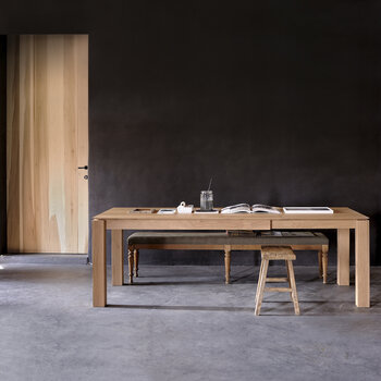 Slice Extendable Dining Table - Oak - Small